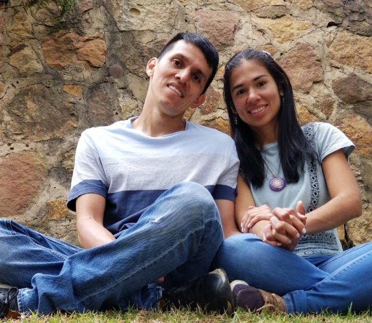 Yecenia Sanchez Rincón y Wilmar Martínez Vargas